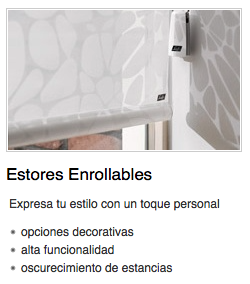 Estores enrrollables