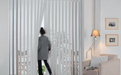 Nueva cortina vertical, onda perfecta Duomo de Destiny Decor